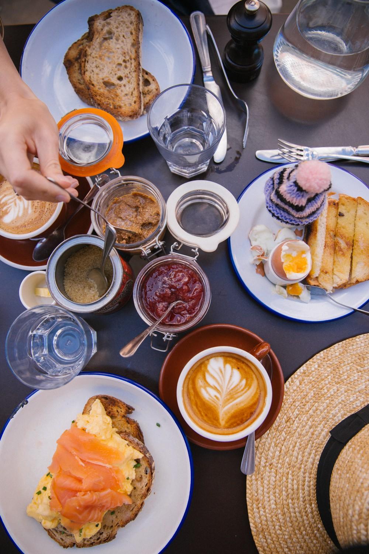 Breakfast in Hampstead
