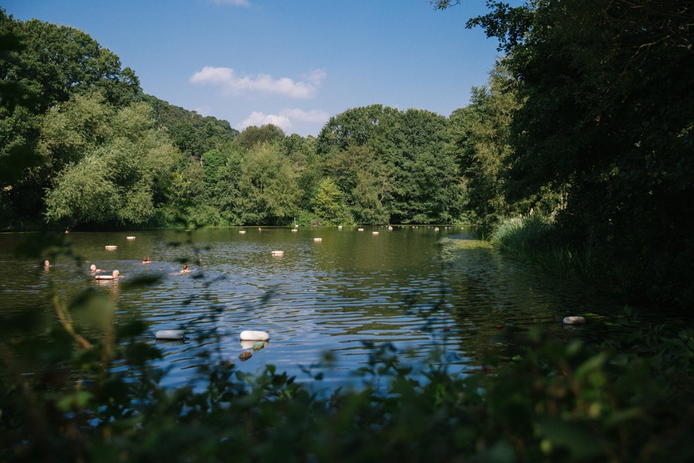 Hampstead Ladies Pond - Wild swimming in London
