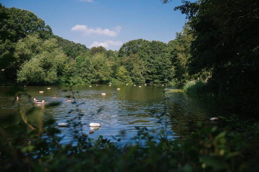 Hampstead Ladies Pond - Wild swimming in London