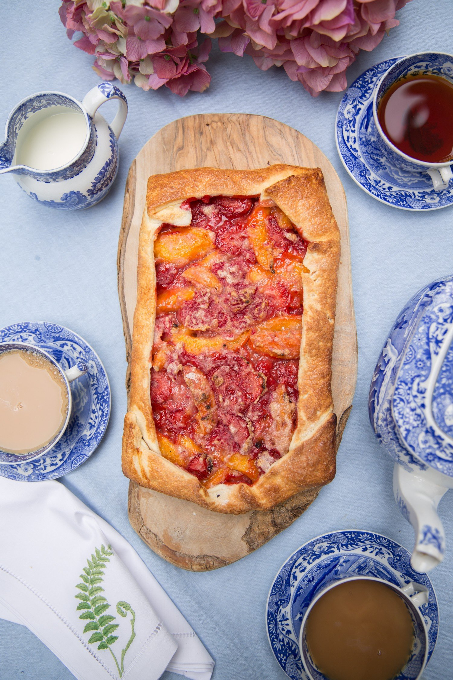 Lazy Summer Tart - Perfect for all those summer fruits!