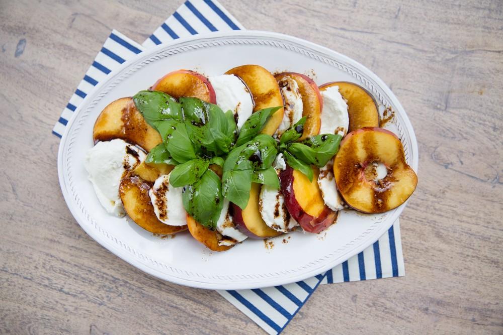 Peach Caprese Salad-6