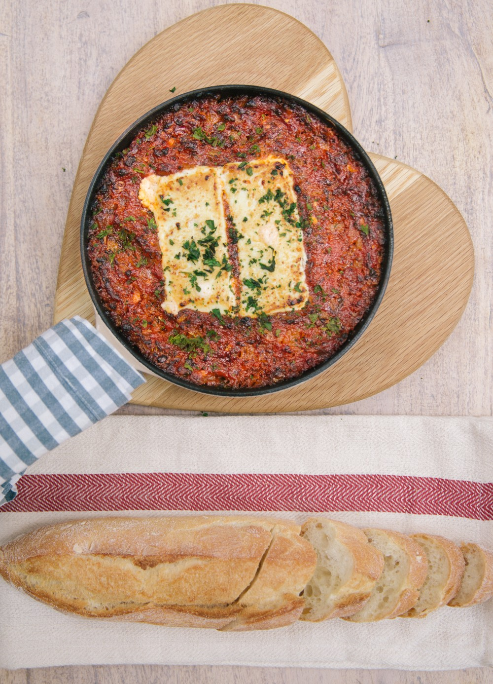 Baked goats cheese dip - Easy and SO GOOD!