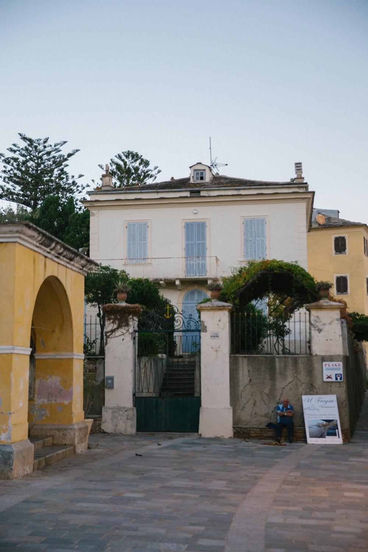 Corsican Fishing Village