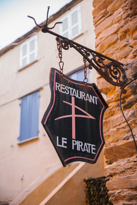 Le Pirate Restaurant in Corsica