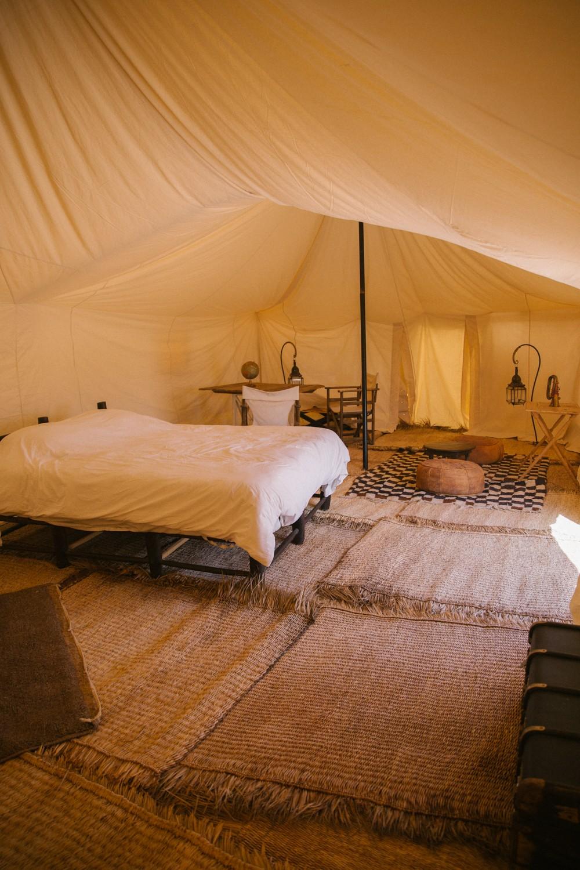 Scarabeo Camp, in the desert outside Marrakech