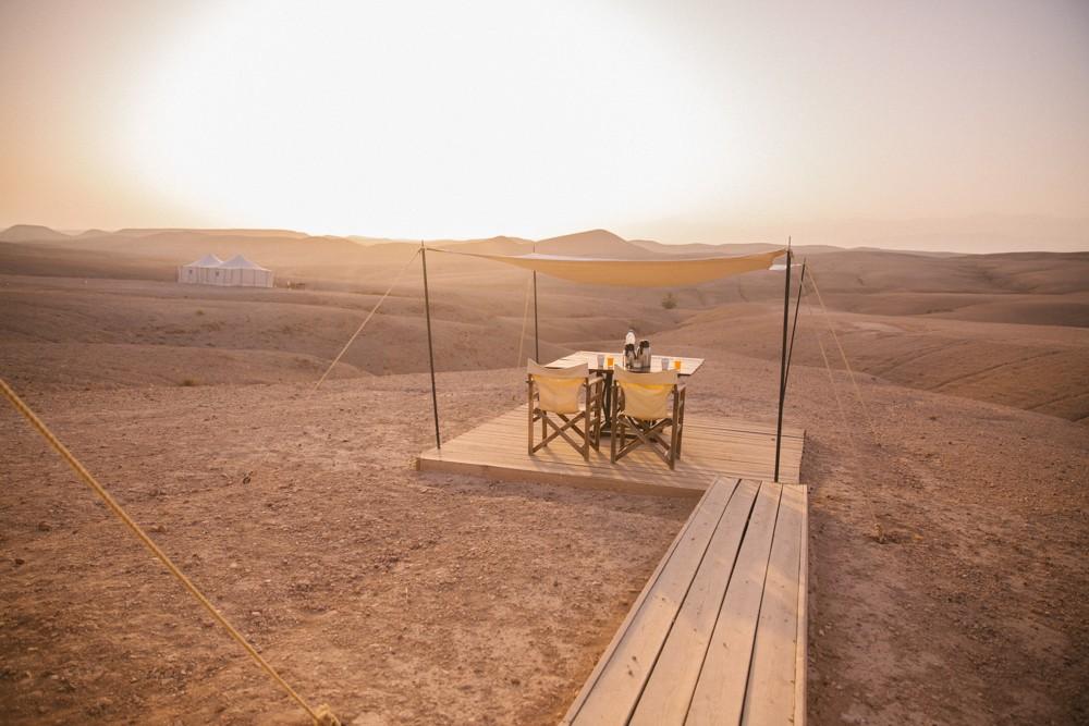 Desert breakfast