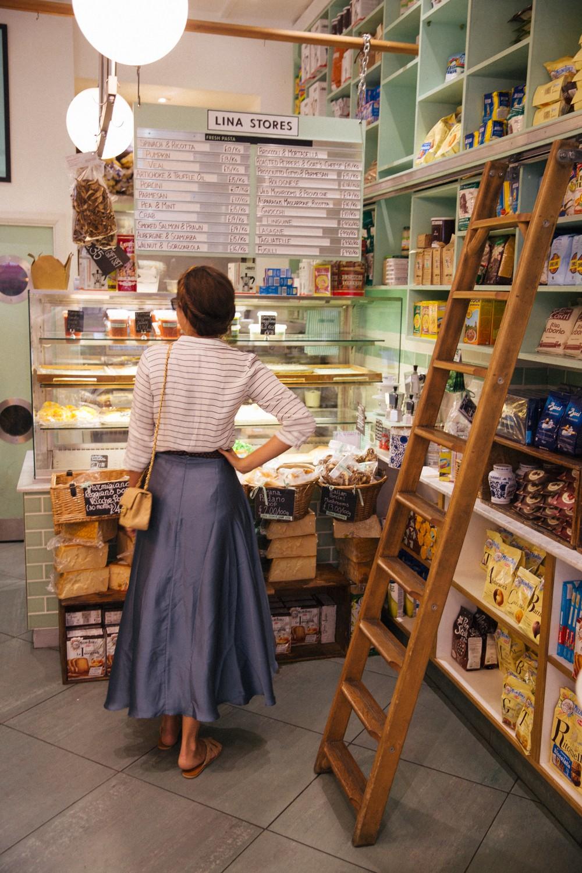Lina Stores in Soho, London
