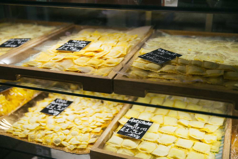 Fresh Pasta at the Deli
