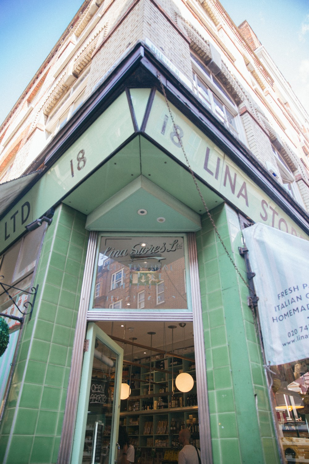 Lina Stores in Soho, London