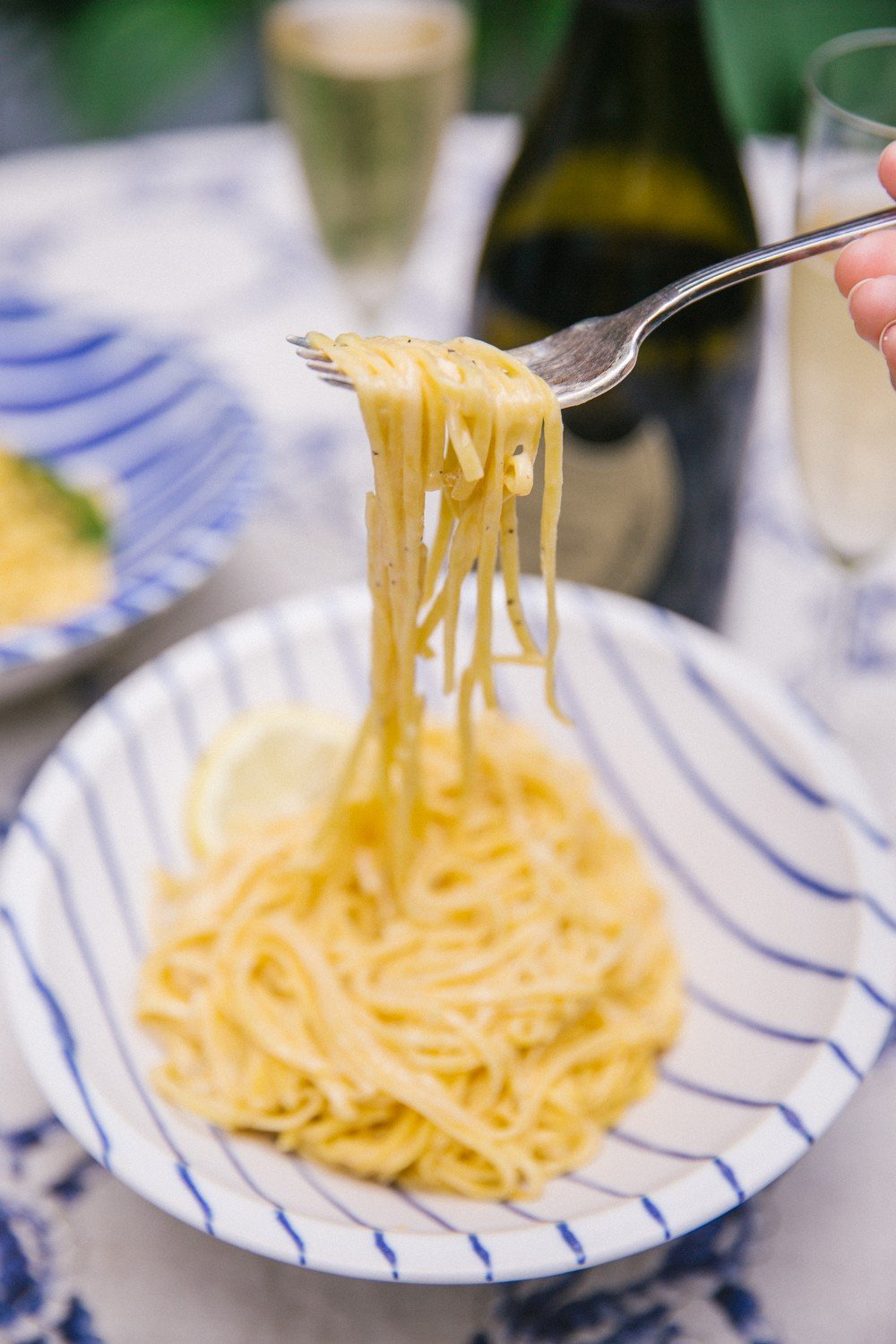 Creamy lemon one-pot pasta (with no cream in sight!)