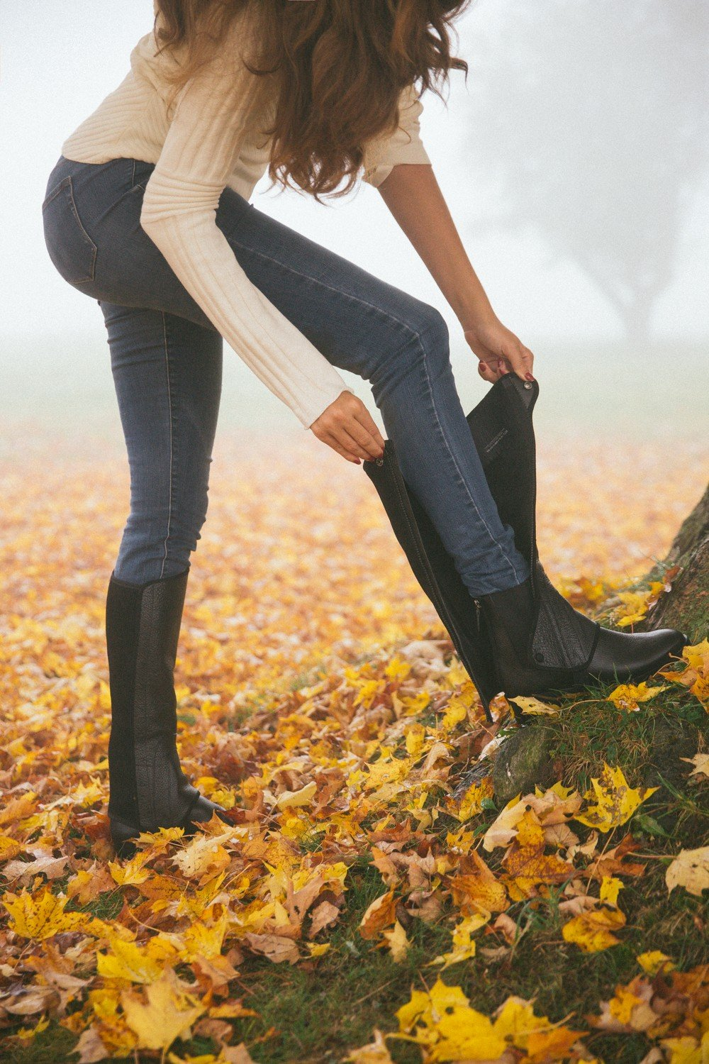 Fall Favourite : convertible leather boots
