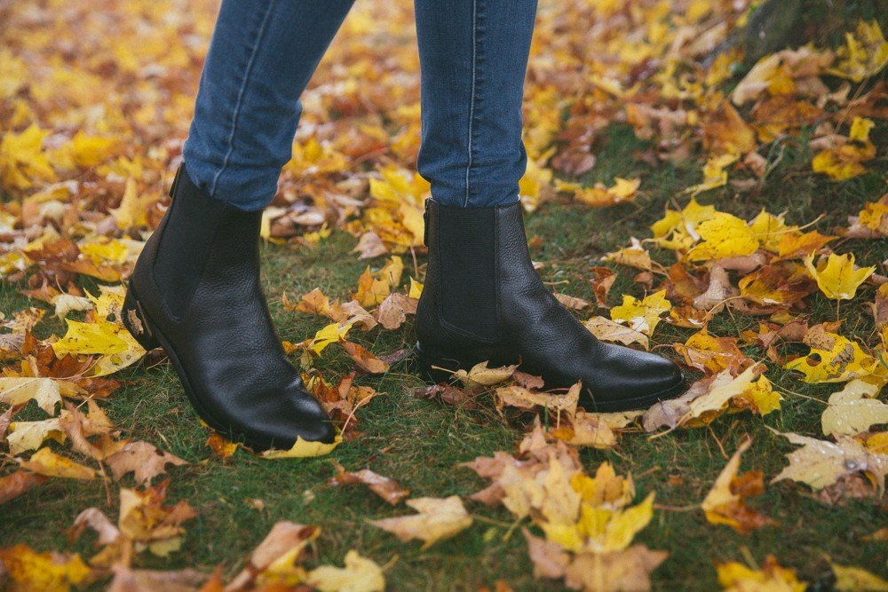 Autumn must-have : black chelsea boots