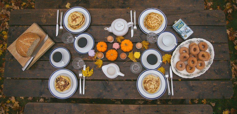 The perfect autumnal breakfast