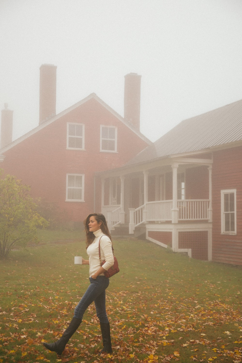 Foggy morning in Vermont