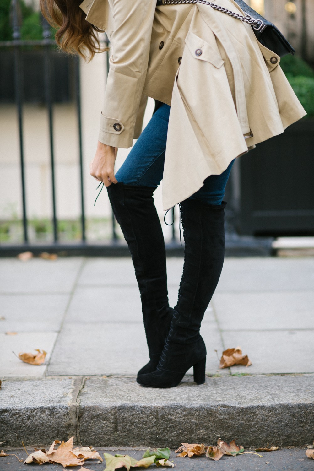 Lace up over the knee boots you can actually afford!