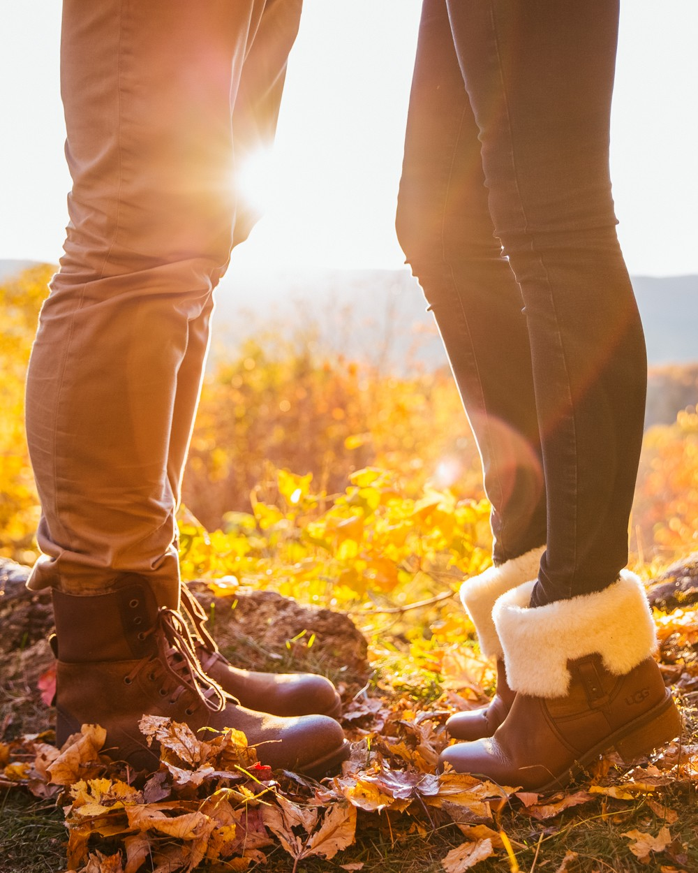 His n Hers UGG boots - snUGG!