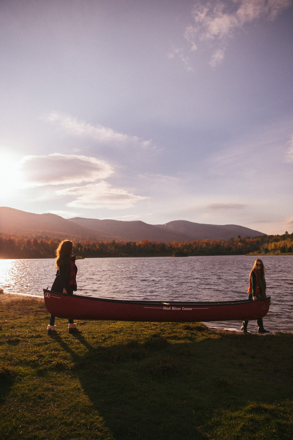 Canoeing in Vermont