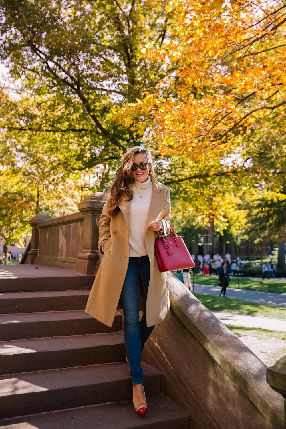 Classic fall style (plus 40% off the coat!)