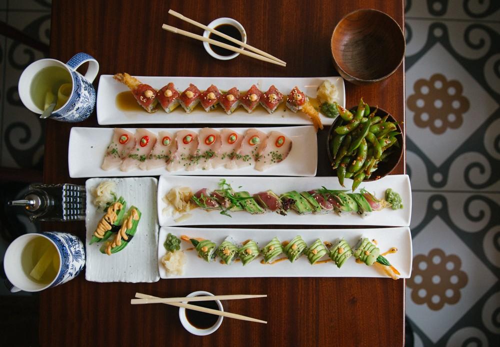 Great sushi in Chelsea London