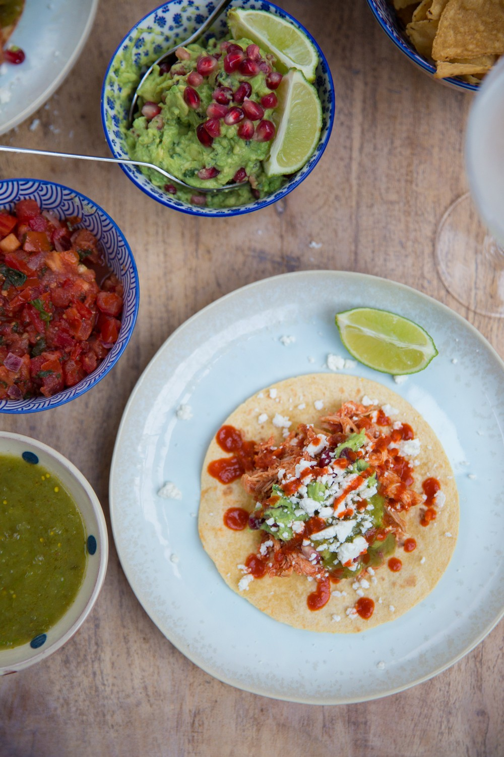 Use your leftover turkey to make epic tacos!