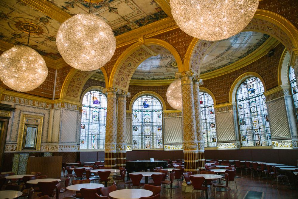 V&A Musuem cafe - a must visit in London!