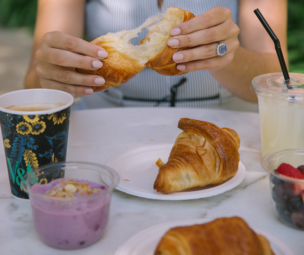 Who needs breakfast at tiffanies when you can have breakfast at the V&A museum?
