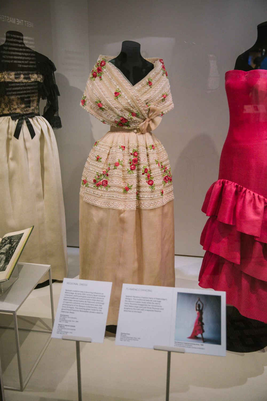 Balenciaga spanish inspired dress