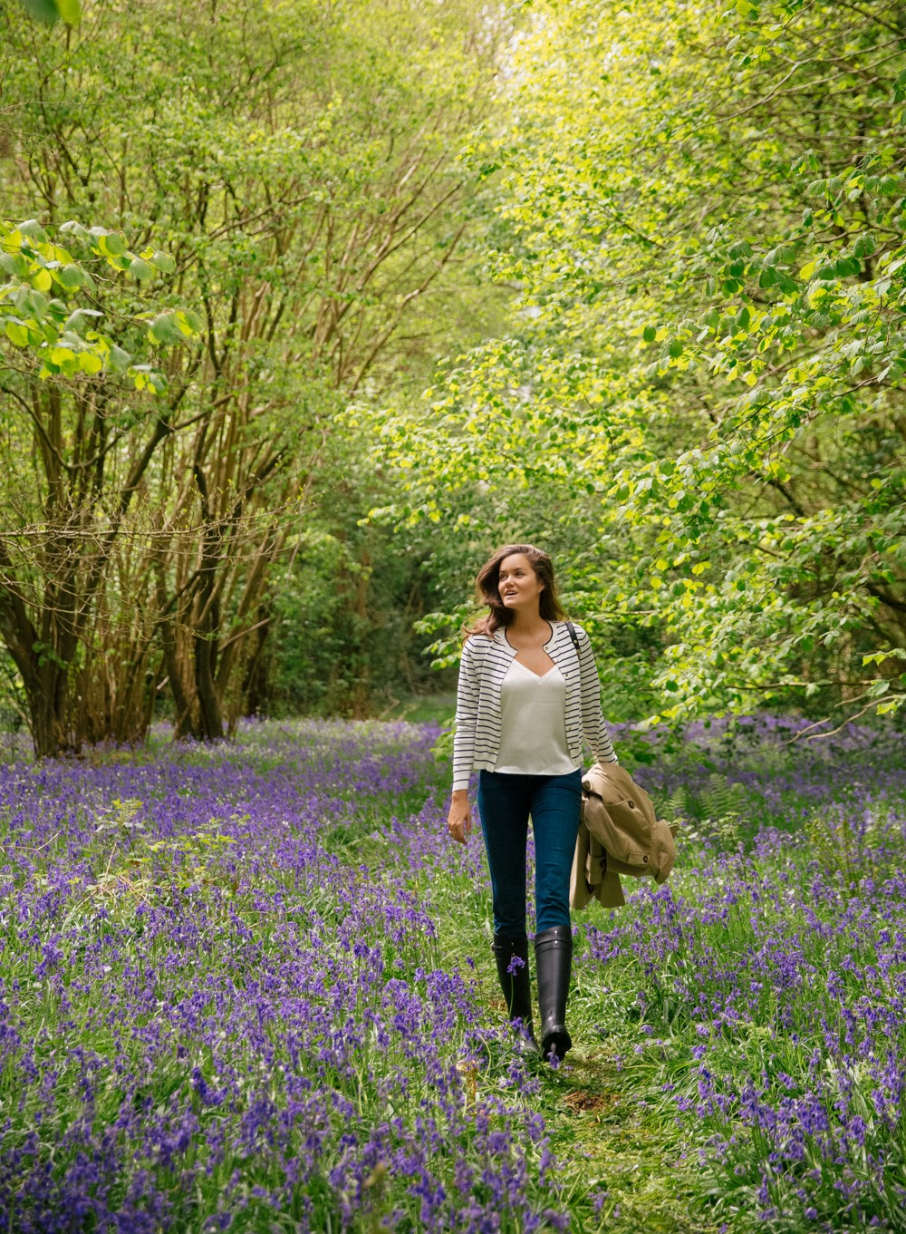 Britain's ancient bluebell woods - smell even better than they look!