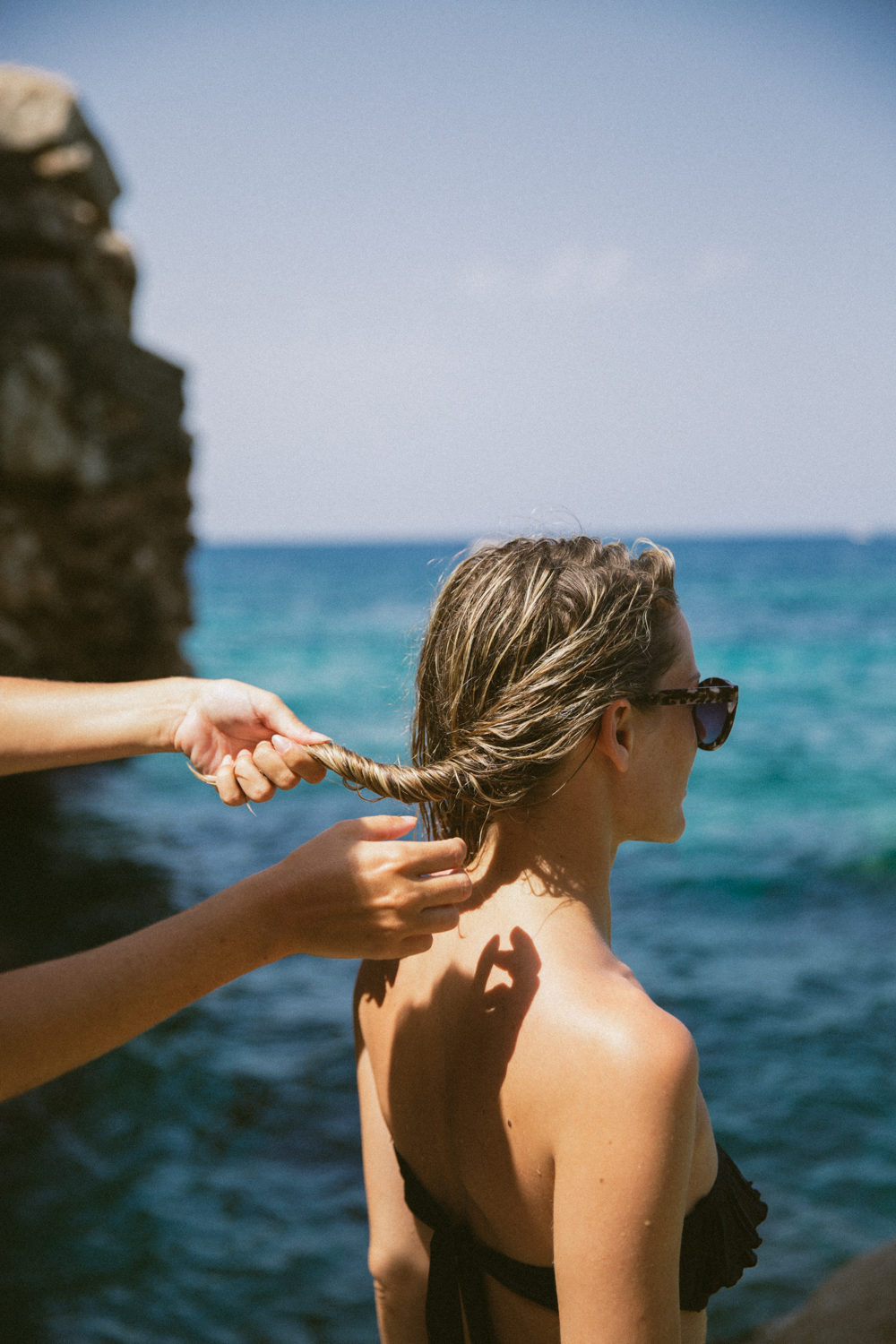 Summer hair tutorial for fine hair