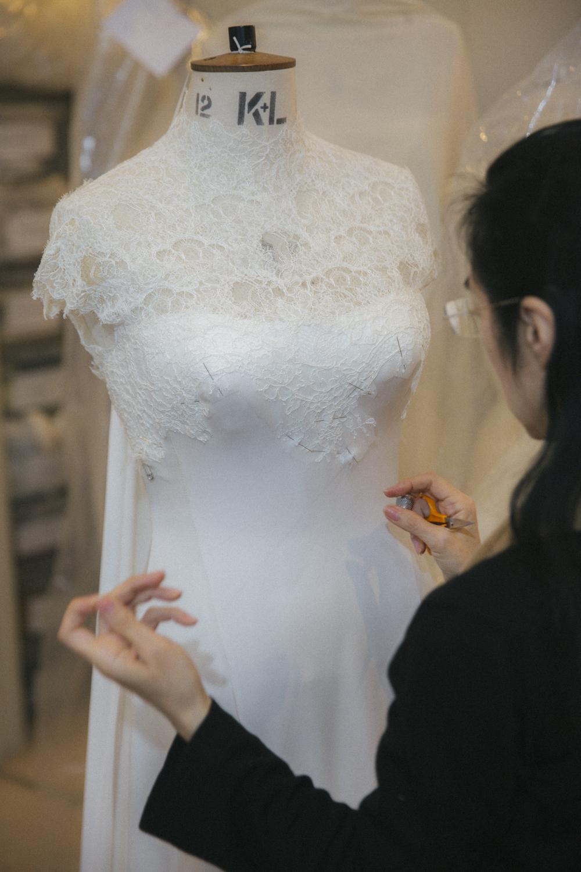 The Londoner » Designing My Wedding Dress