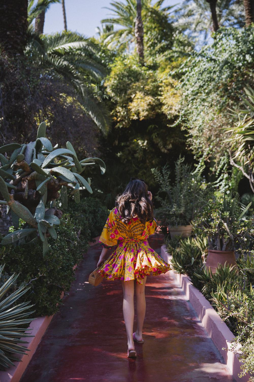 The Londoner 187 Yves Saint Laurent Marrakech