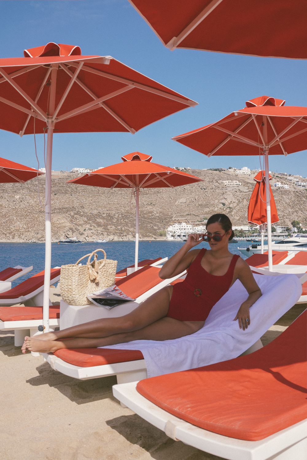 The Londoner 187 Beach Day Mykonos