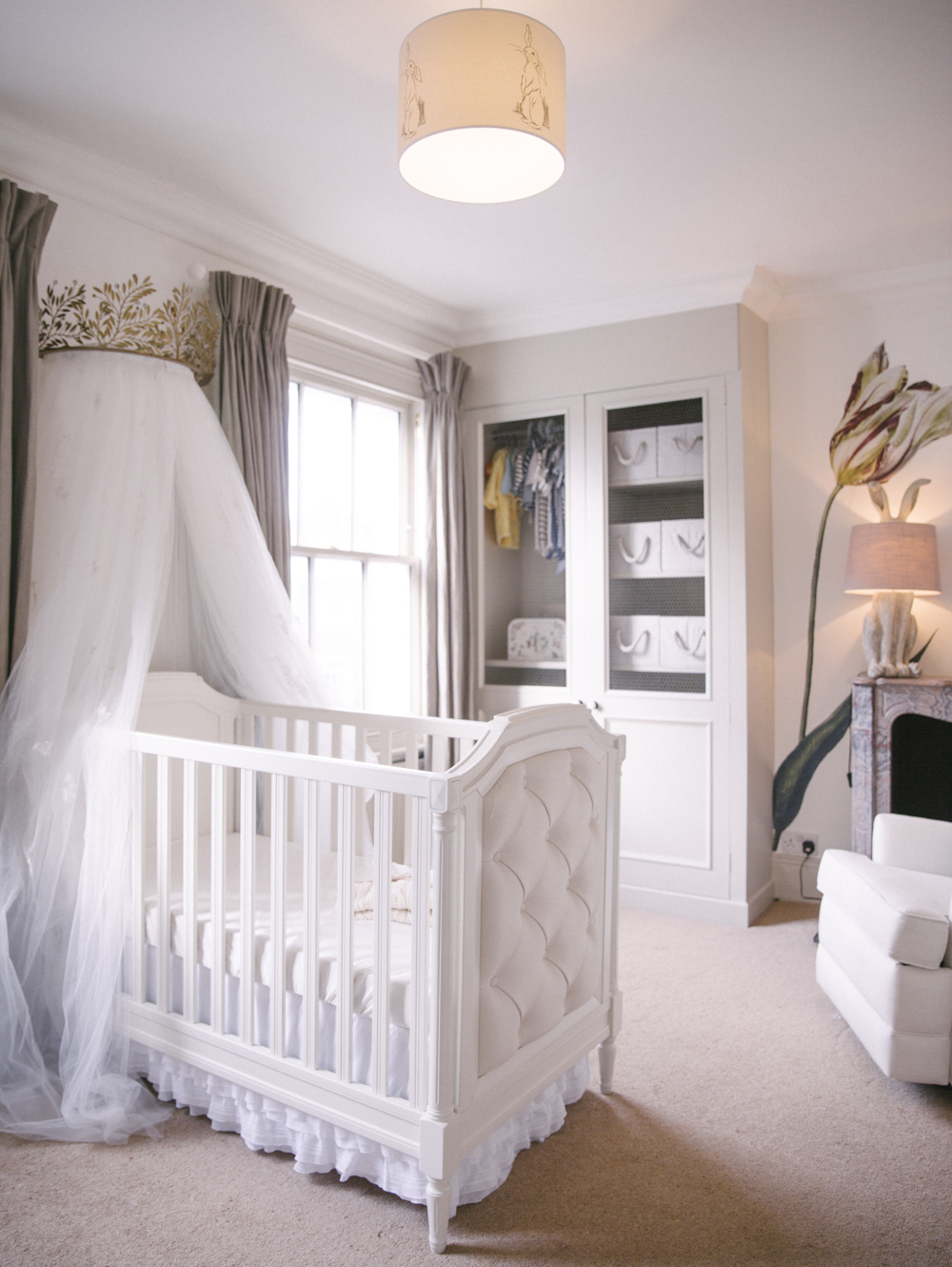 Classically neutral nursery
